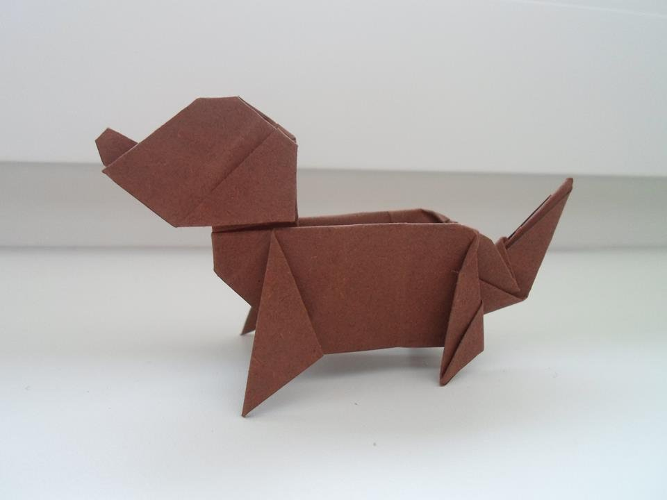 Origami Dog (Ladislav Kaňka) - YouTube