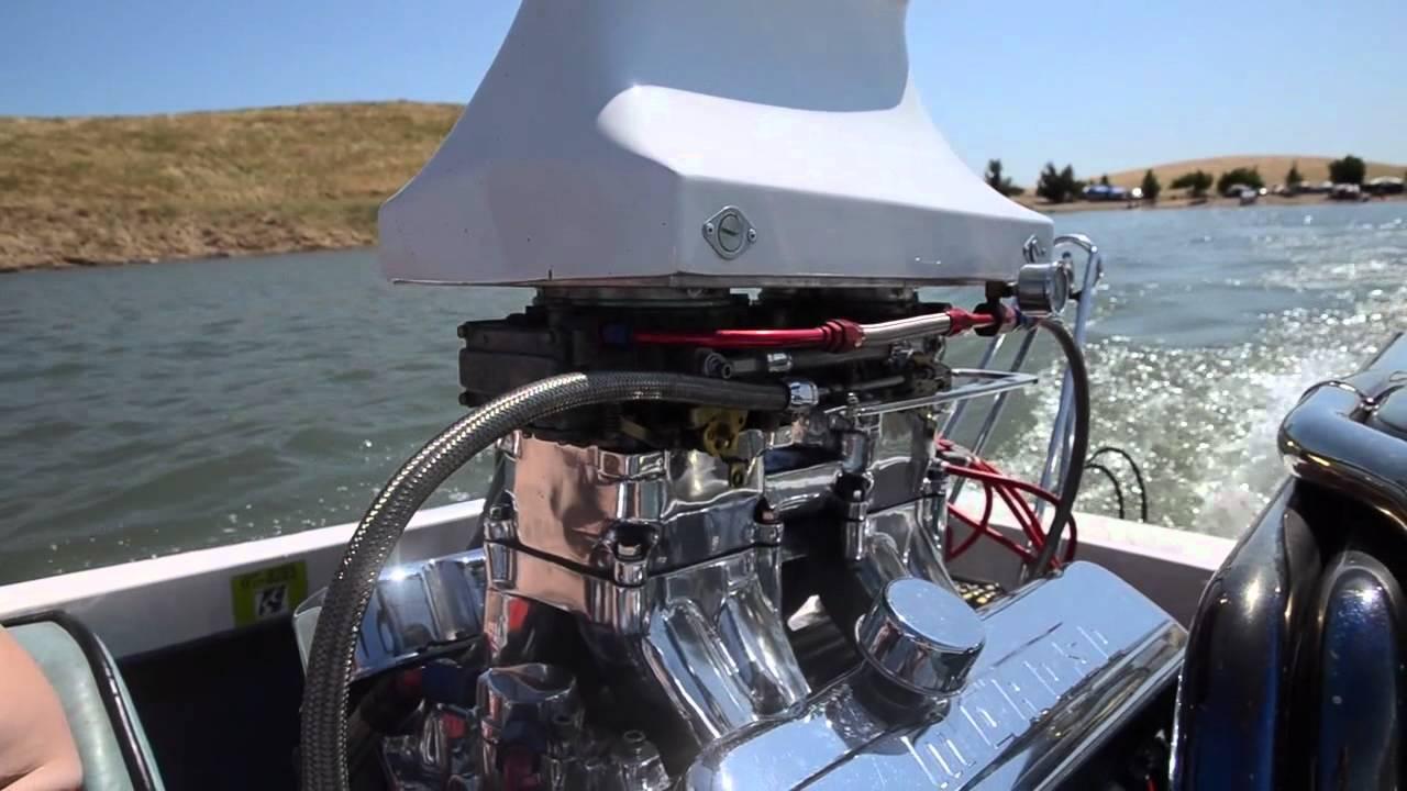 Speed Boat, V8 motor