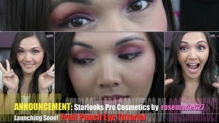 ANNOUNCEMENT: Starlooks Pro Cosmetics by rosemarie627 Launching SOON! Fruit Punch Eye Tutorial Thumbnail