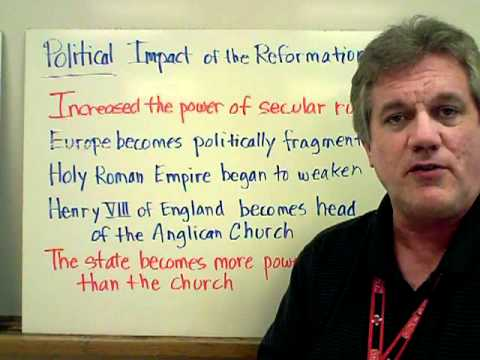 Impacts of the Reformation
