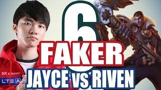 Faker đại chiến Scout cùng Bang - JAYCE vs RIVEN #6