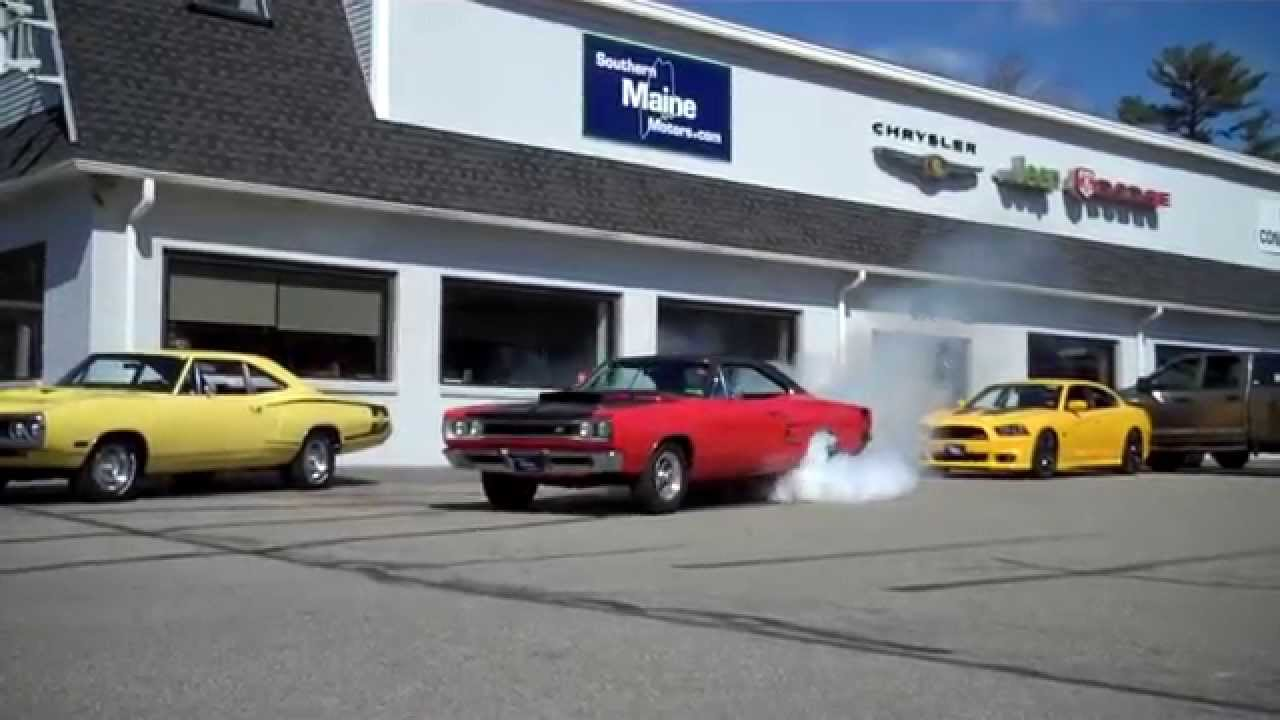1969 dodge super bee burn out spin out smoke show southern for Southern maine motors saco maine