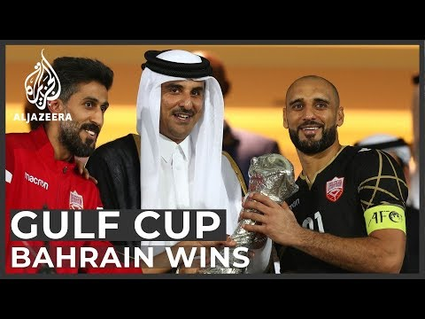 Gulf Cup: Bahrain stun Saudi Arabia 1-0 to lift first title