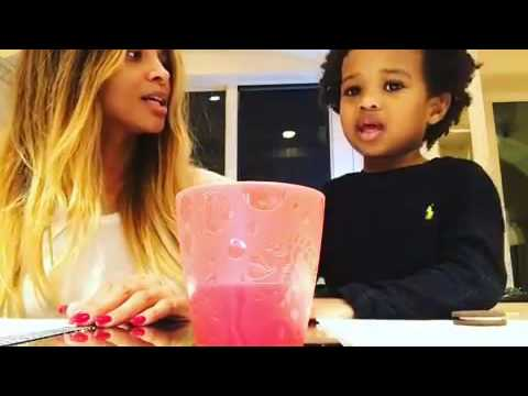 Singer Ciara and rapper Future  adorable son