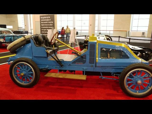 1907 BABY BLUE RENAULT 35 45 VANDERBUILT RACER @ PHILADELPHIA CONVENTION CENTER CAR SHOW