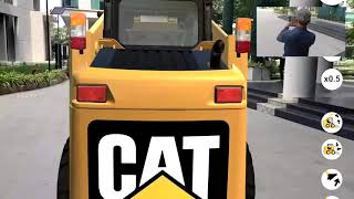Caterpillar AR - CAT 216B3 Attachments Visualisation (Augmented Reality for Sales)