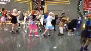 Glenbard East Anime Club Flashmob ACEN 2015