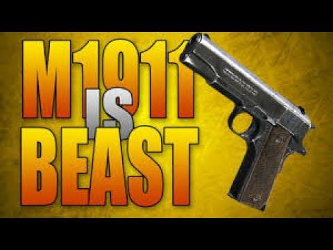 M1911 TRIGGER FINGER / SKIP TO 9:12 SEC