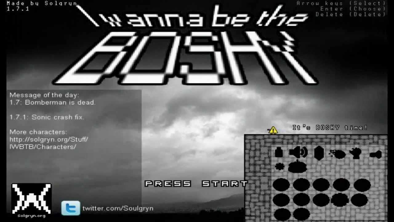 I Wanna Be The Boshy 17 1 Download Liftdrifatclub S Ownd