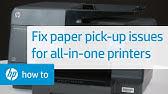 fixing FALSE error of paper jam HP Deskjet Printer - YouTube