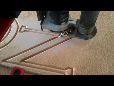 Torchmate 2x4 -- CNC Router -- Convoyant Sign 1