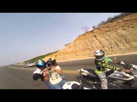 Yamaha XT660 Suzuki DR650 KEEWAY RK6 Anillo Vial Cúcuta (GO PRO HERO 4 1080P) 06/03/2016