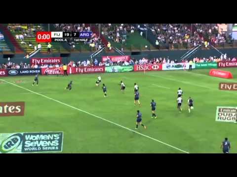 Emirates Airline Dubai Rugby Sevens - Fiji vs Argentina