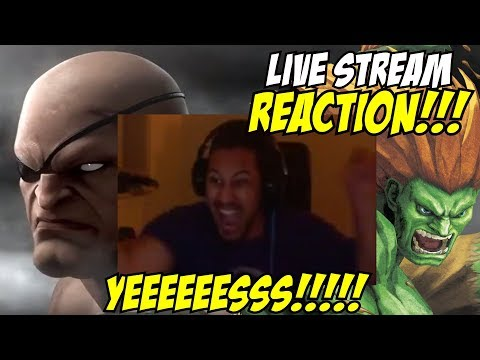 FINALLY!!! MY BLANKA IS HERE!!! Street Fighter V AE Season 3 Character Reveals LIVE REACTION!!!