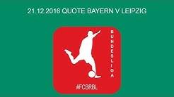Quote Bayern Leipzig | Beste Quote Tipp X2 Bet365 Tipp FCB Bet3000