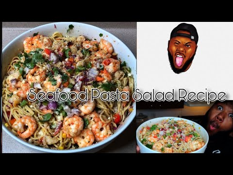Lobster and Shrimp Seafood Pasta Salad | How to cook