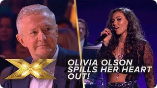 Olivia Olson SPILLS her heart out with AMAZING performance! | Live Week 1 | X Factor: Celebrity