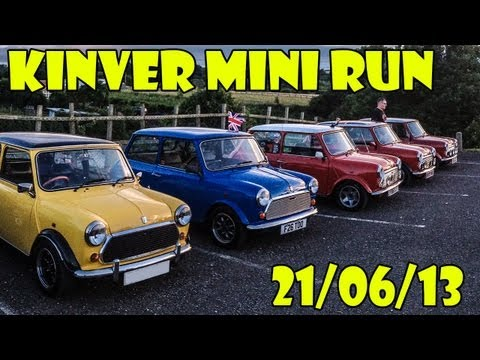 British Mini Club Mini Run 21/06/13 [HD]