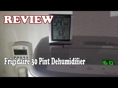 REVIEW Frigidaire 30 Pint Dehumidifier 2019