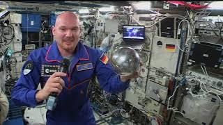 Livecall Alexander Gerst zur DLR_Raumfahrt_Show