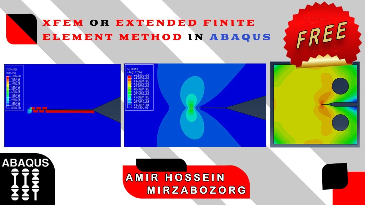 xfem or extended finite element method in abaqus