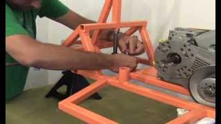 Assembling The Front End Of A Bar Stool Racer By Www.barstoolracerplans.com