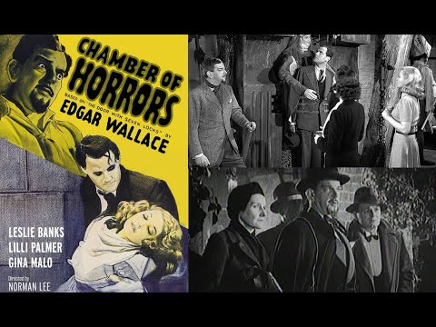 CHAMBER OF HORRORS (1940) Vintage Horror / Murder Mystery Movie aka THE DOOR WITH SEVEN LOCKS