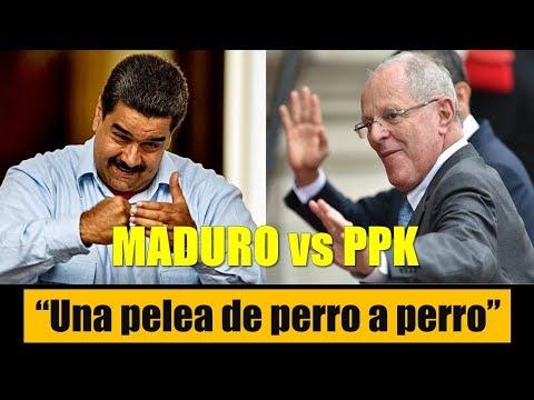PEDRO PABLO KUCZYNSKI vs NICOLÁS MADURO
