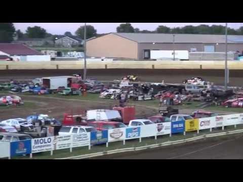 IMCA Sport Mod feature Farley Speedway 7/8/16