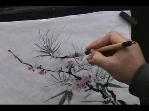 Three Friends of Winter in Traditional Chinese Painting (2/2) - Henry Li