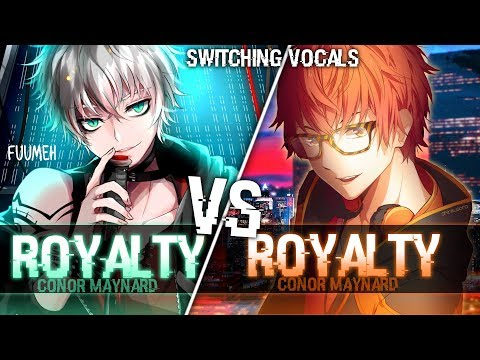 ◤Nightcore◢ ↬ Royalty Switching Vocals