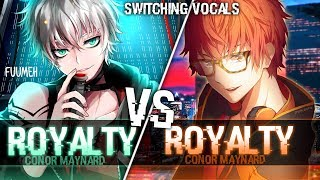 Nightcore Royalty [Switching Vocals]