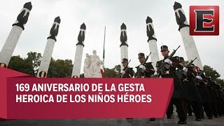 EPN pasó lista de honor a los Niños Héroes de Chapultepec