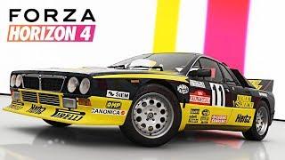 COMPRO LANCIA STRADALE DEL 1982 + Tuning - Forza Horizon 4 ITA - 4K ULTRA + VOLANTE LOGITECH