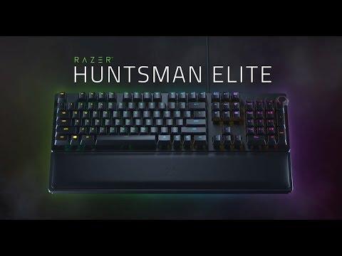 ea8b76e9f63 Unboxing the Razer Huntsman Elite Gaming Keyboard - YouTube