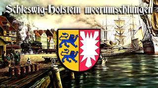 """Wanke nicht, mein vaterland (""""do not falter, my fatherland""""), also known as schleswig-holstein, meerumschlungen (""""schleswig-holstein, embraced by the sea"""") o..."""