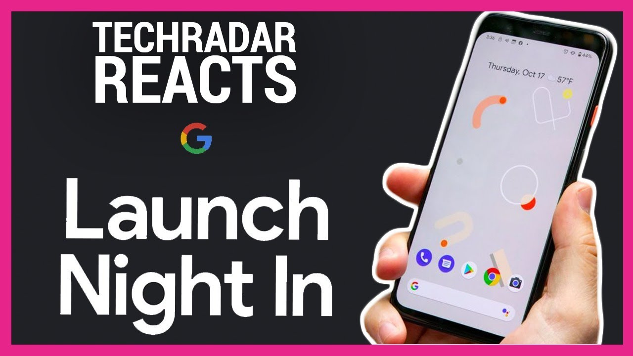 Google Pixel 5 Reveal Event Live | TechRadar Reacts - TechRadar
