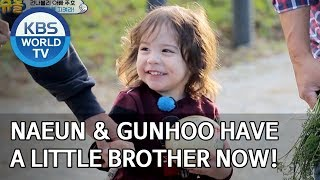 Naeun and Gunhoo have a little brother now! [The Return of Superman/2020.01.05]