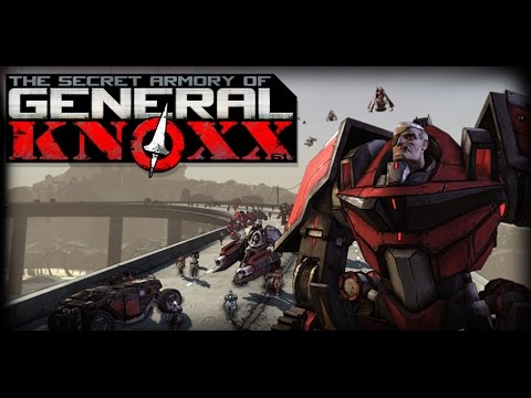 Borderlands: The Secret Armory of General Knoxx - Game Movie (Story Playthrough) - 1080p