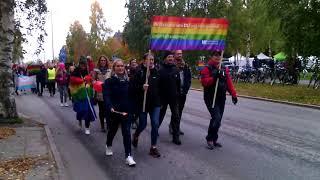 Прайд-парад в Умео