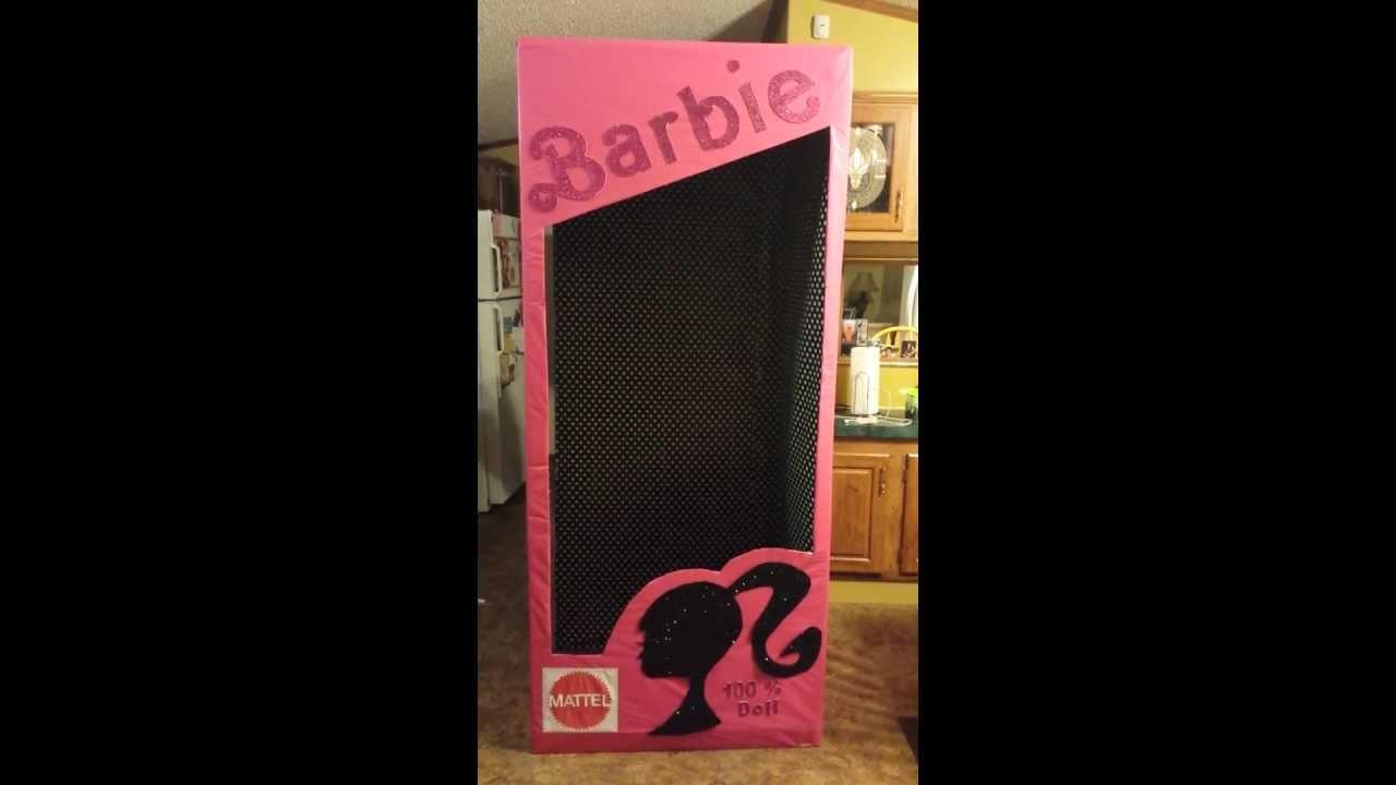 Life Size Barbie Box Youtube