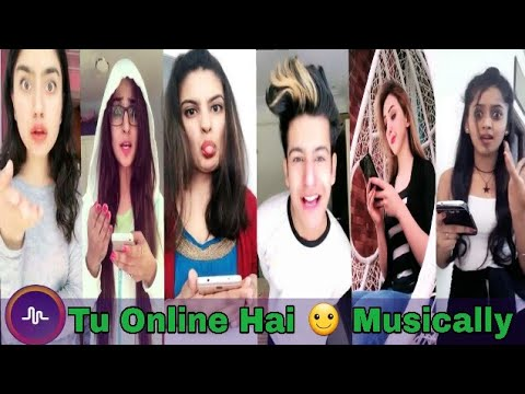 tu online hai best muser in musical ly musically india