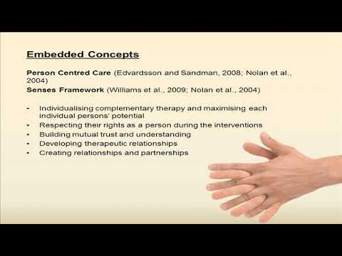 Bryan Mitchell - The contribution of Complementary Therapy to Nursing Home Residents