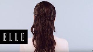 Fishtail Braid | Beauty Bites | ELLE
