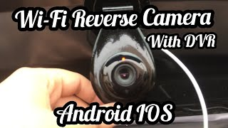 WiFi Reverse Camera install without loosing warranty BALENO.