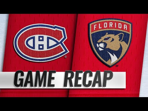 Tatar, Canadiens top Panthers for third straight win