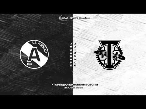 Прямая трансляция матча Acireale - Torpedo