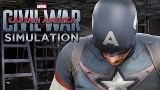 captain america civil war captain america vs iron man wwe 2k16