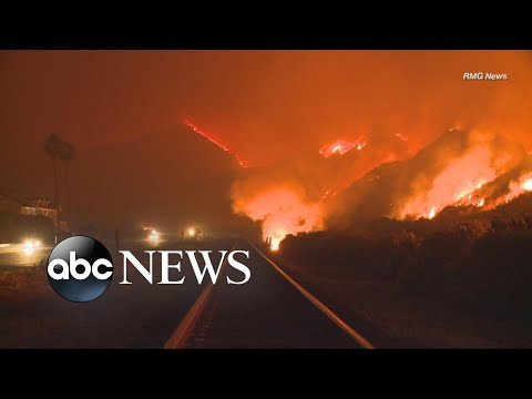 First fatality reported from California wildfires