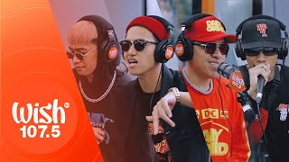 8 BALLIN' perform Know Me LIVE on Wish 107.5 Bus